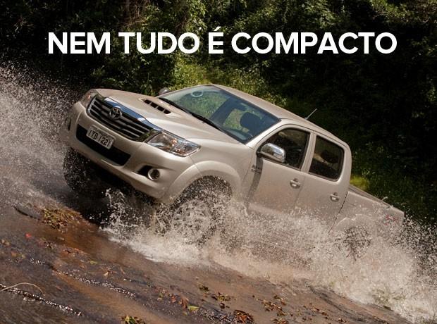 carros mais vendidos por estado 2015 - hilux (Foto: Divulgação)