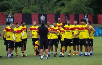 Com trabalho fechado, Argel Fucks define Vitória para enfrentar o Sergipe