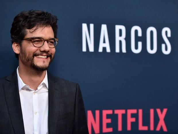 Wagner Moura em première em Los Angeles, nos Estados Unidos (Foto: Alberto E. Rodriguez/ Getty Images/ AFP)