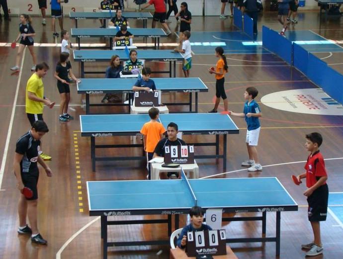 Prudente é campeã da 5ª etapa da Liga Oeste Paulista de Tênis de Mesa (Foto: Marcos Chicalé / Divulgação / Semepp)