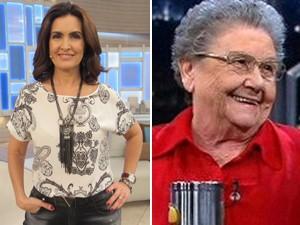 Fátima e Palmirinha (Foto: TV Globo)