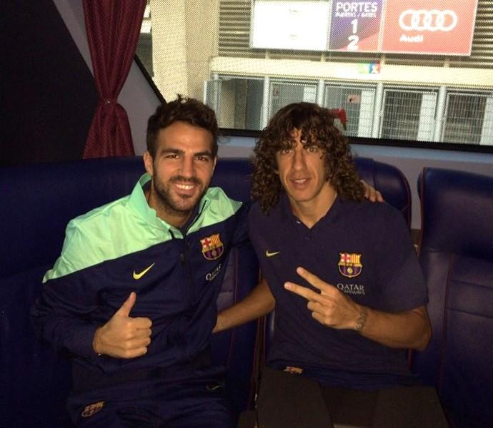 Puyol Barcelona (Foto: Reprodução / Instagram)