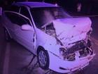 Acidente deixa uma pessoa morta e quatro gravemente feridas na BR-282