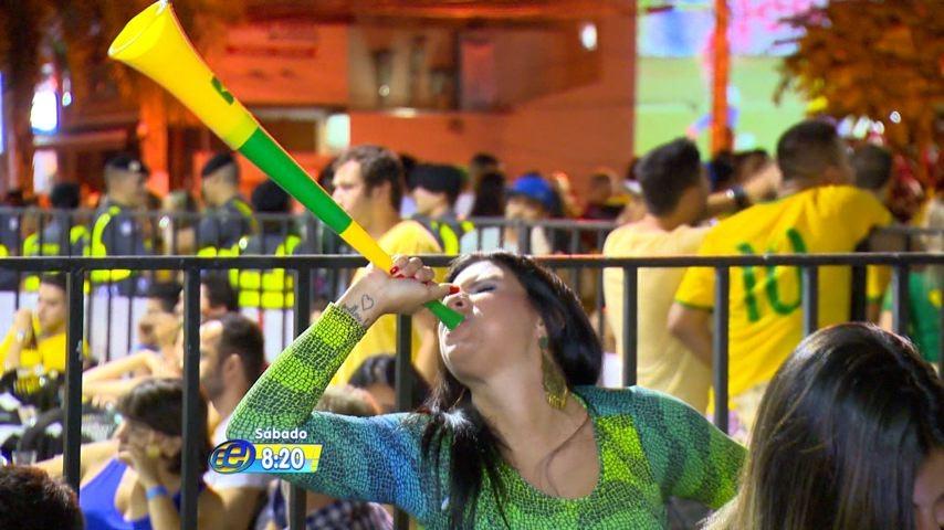 Estação Esporte em clima de Copa (Foto: Divulgação)