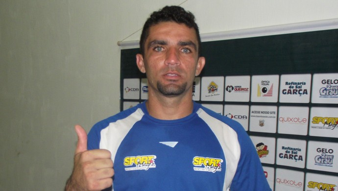 Érico, goleiro do Baraúnas no Amigão (Foto: Silas Batista / Globoesporte.com/pb)