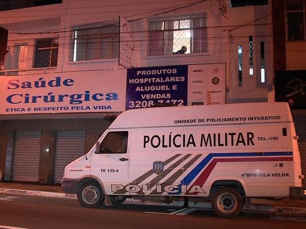 Polícia fecha cassino no Espírito Santo que tinha como fachada clínica odontológica (Foto: Reprodução/TV Gazeta)