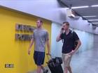 Impedidos de voltar aos EUA, nadadores se calam em depoimento
