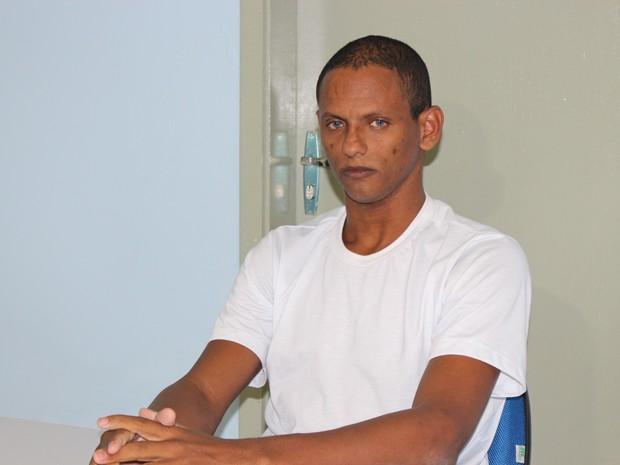 Rodrigo Fernandes das Dores de Sousa, irmão do goleiro ex-Bruno (Foto: Ellyo Teixeira/G1)