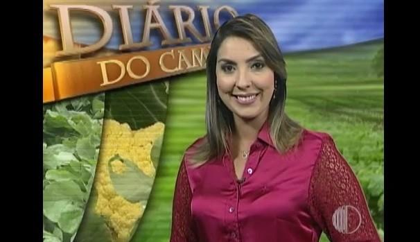 Apresentadora Priscila Tovic  (Foto: Reprodução / TV Diário)