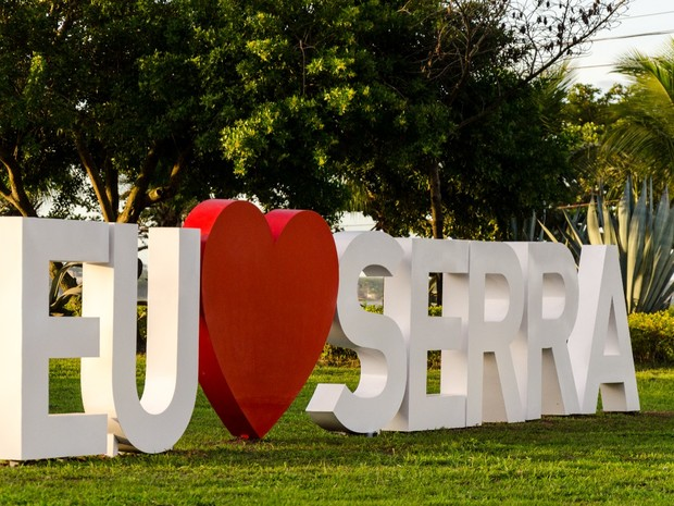 G1 - Eu amo Serra: letreiros espalham o amor pelo