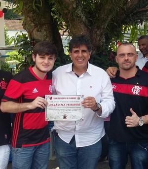 Maurício Mattos, vice geral do Flamengo (Foto: Felipe Basilio/GloboEsporte.com)
