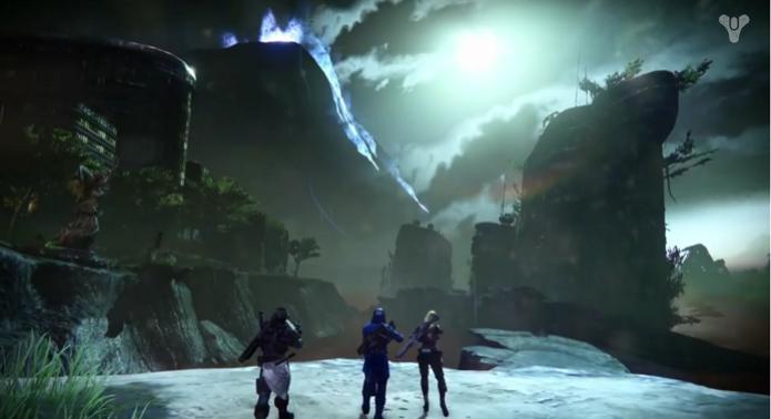Destiny ganhou seu primeiro vídeo com cenas de gameplay em Vênus. (Foto: Reprodução/YouTube) (Foto: Destiny ganhou seu primeiro vídeo com cenas de gameplay em Vênus. (Foto: Reprodução/YouTube))