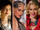 'Joia rara': olhos esfumados e batons fortes marcam as personagens