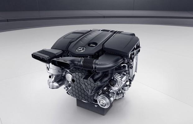 OM 654, novo motor turbodiesel da Mercedes que vai equipar o Classe E 220d (Foto: Divulgação)