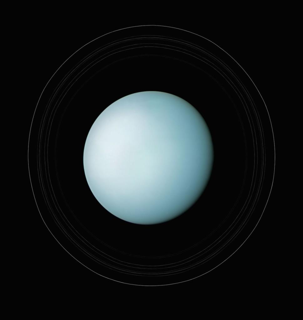 Urano (Foto: NASA/Michael Benson)