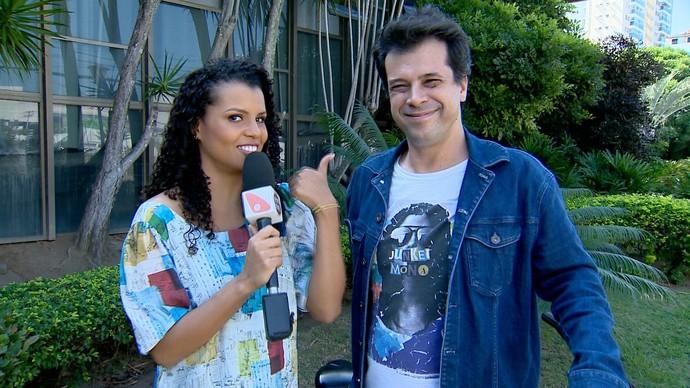 O 'EMME' se despede de Fafá e relembra as matérias com Nick Teixeira (Foto: Divulgação / TV Gazeta ES)