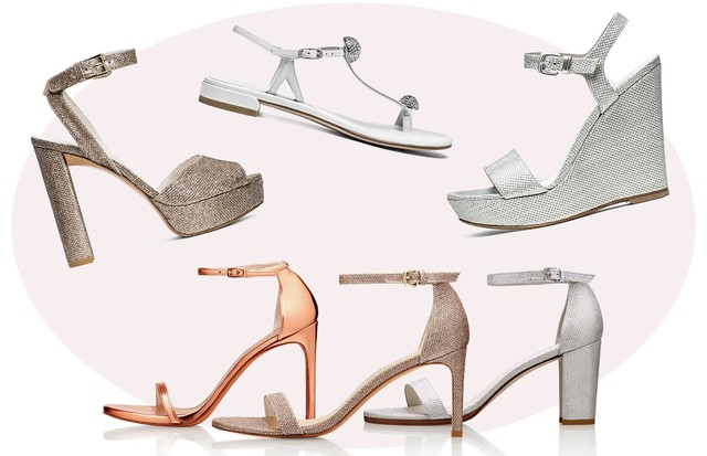 Sapatos para noivas de Stuart Weitzman (Foto: Arte Vogue Online)