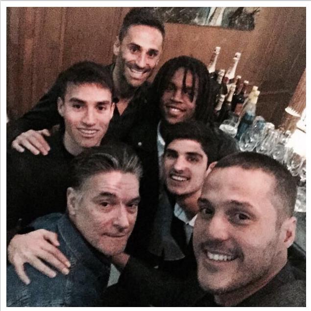 BLOG: Julio César e Jonas se reúnem para jantar de aniversário de argentino do Benfica