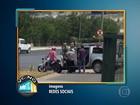 Vídeo mostra assalto em shopping de Contagem, na Grande BH