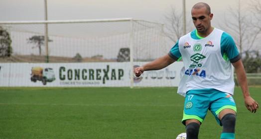 confiante (Cleberson Silva/Chapecoense)
