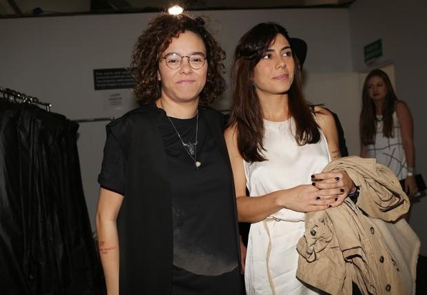 Maria Gadú e a namorada, Lua Leça (Foto: Iwi Onodera / EGO)