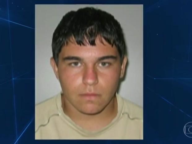 Israel Pedra Mesquita, suspeito de planejar ataque na Olimpíada (Foto: Reprodução/ TV Globo)