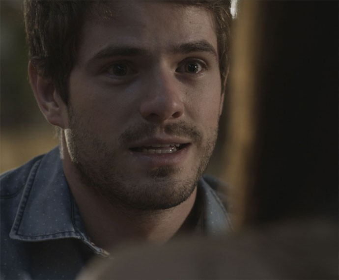 Ben reage surpreso (Foto: TV Globo)