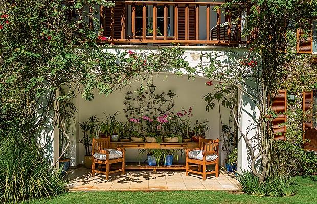 fotos jardim paisagismo:Menos água no jardim – Casa e Jardim