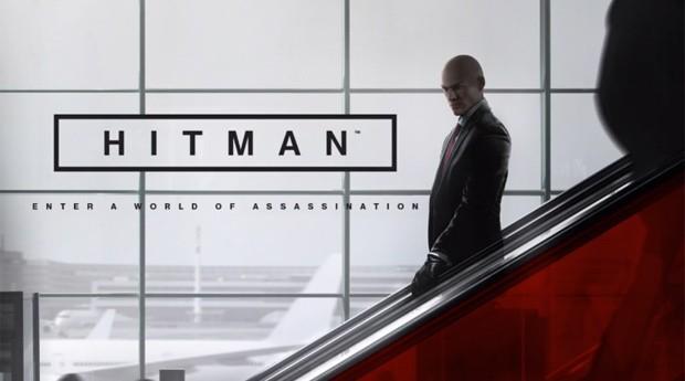 """Square Enix demonstra novo """"Hitman"""" em conferência na E3 (Foto: Reprodução/Twitch)"""