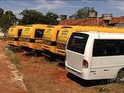 Ônibus escolares comprados pelo governo de Goiás não são utilizados