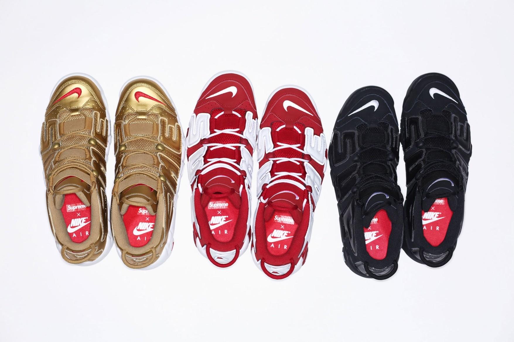 Supreme x Nike Air More Uptempo (Foto: Divulgação)