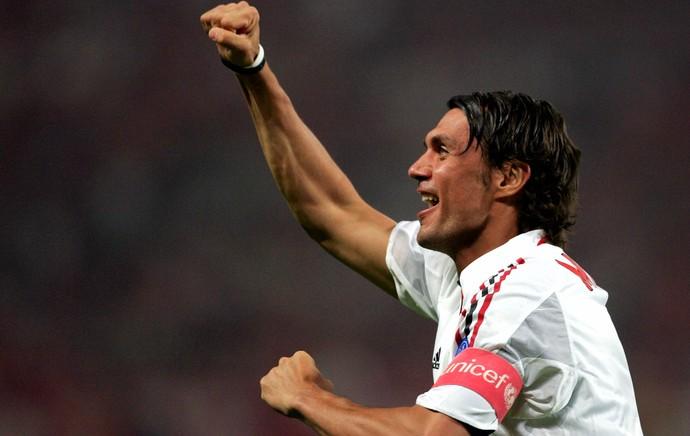 Paolo Maldini Milan (Foto: Getty Images)
