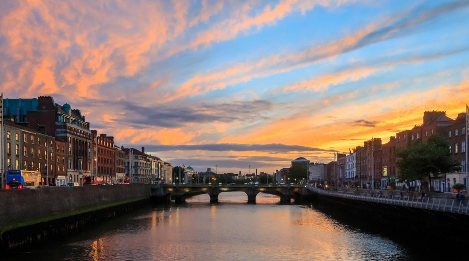 Dublin, na Irlanda. Escola oferece bolsas para estudar inglês na cidade (Foto: Flickr)