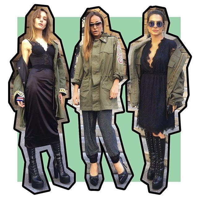 Coincidência fashion: Isabel Hickmann, Sabrina Sato e Cleo Pires  (Foto: reprodução)