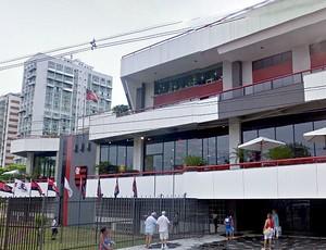 sede do Flamengo na Gávea (Foto: Divulgação)