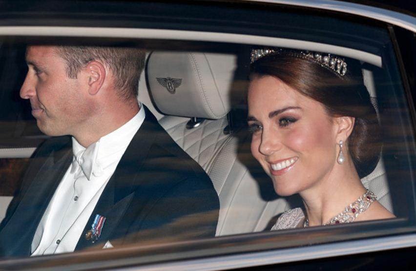 Kate Middleton participa de banquete real oferecido ao Rei e a Rainha da Espanha (Foto: Getty Images)