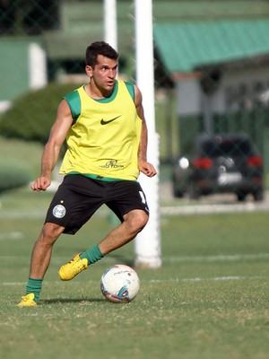 Eltinho no treino do Coritiba (Foto: Divulgação / Site oficial do Coritiba)