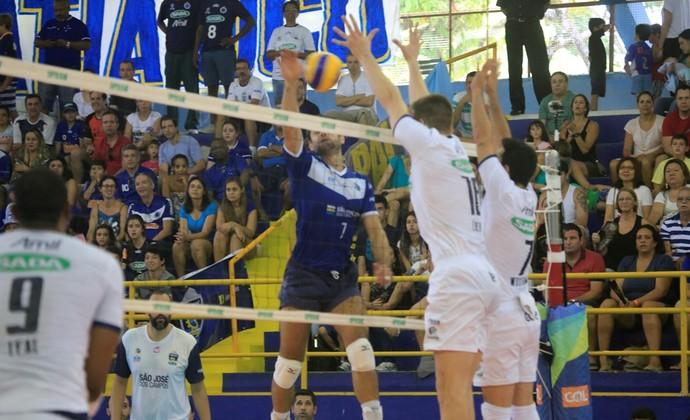 São José Cruzeiro Vôlei Superliga Tênis Clube (Foto: Fabio Dias e José Augusto/ Photography)
