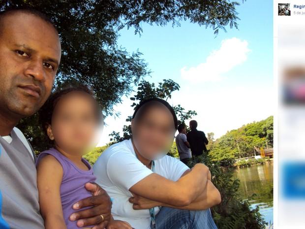 Reginaldo era policial rodoviário e morreu atropelado na Rodovia dos Bandeirantes em Campinas (Foto: Reprodução / Facebook)