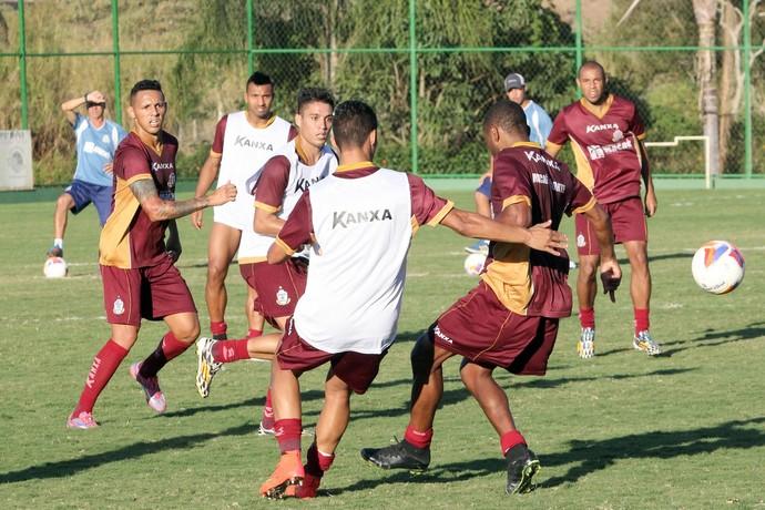 treino Macaé (Foto: Tiago Ferreira / Macaé Esportes)