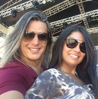 Marlus Viana e Paulinha Abelha (Foto: Reprodução/Instagram)