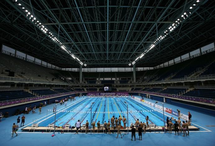 Estádio Aquático Olímpico, natação, Rio 2016 (Foto: Satiro Sodré / SSPress / CBDA)