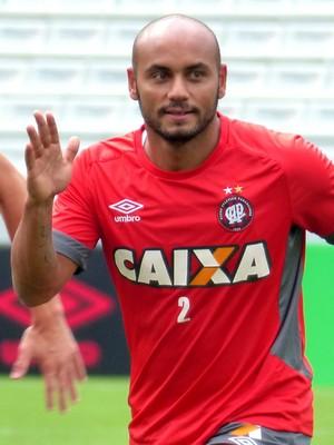 Jonathan Atlético-PR (Foto: Monique Silva)