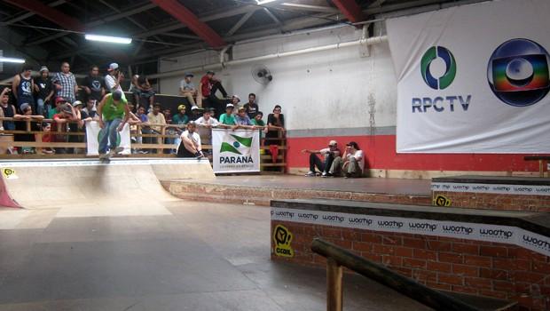 Circuito de Skate Londrina (Foto: Divulgação/RPC TV)