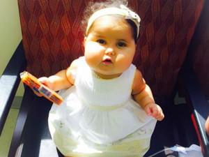 Sofia passou pelo transplante de seis órgãos (Foto: Campanha Ajude a Sofia/Divulgação)