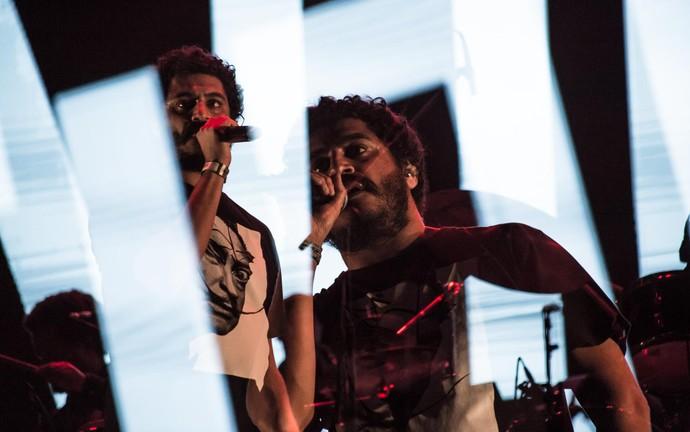 Criolo se apresentou pela terceira vez no João Rock (Foto: Mateus Rigola/Gshow)