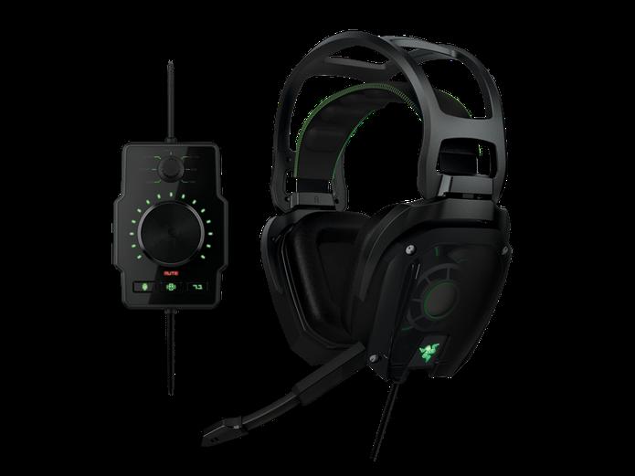 Razer Tiamat 7.1 tem controles avançados de audio (Foto: Divulgação/Razer)