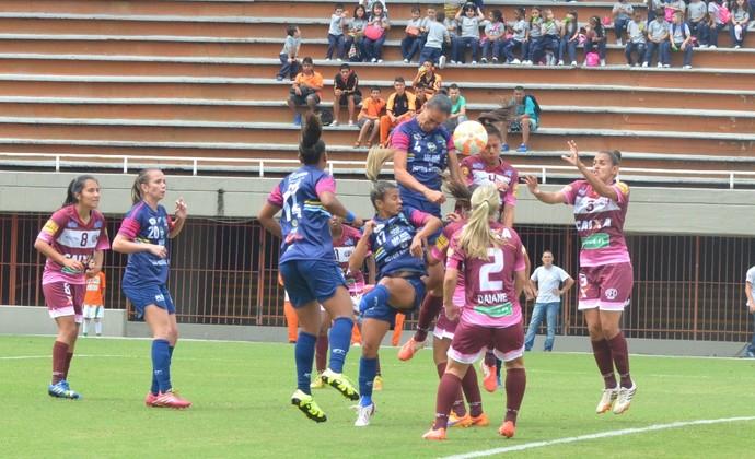 São José futebol feminino x Ferroviária futebol feminino Libertadores (Foto: Tião Martins/PMSJC)