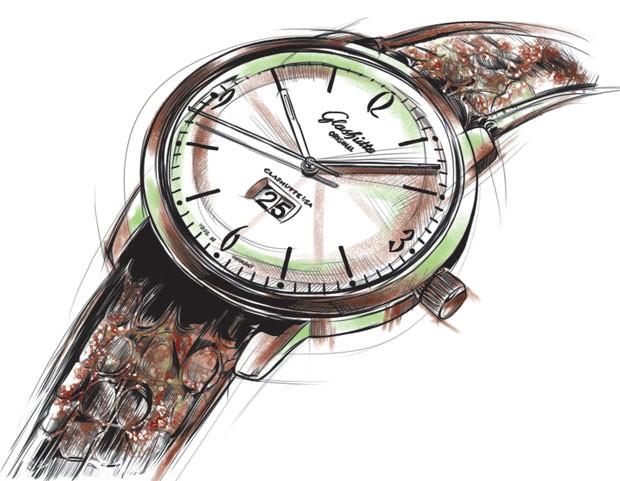 Relógio Glashütte Original (Foto: GQ)