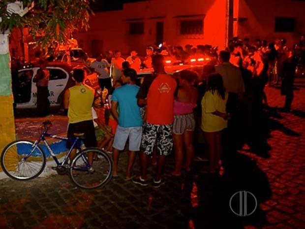 Crime aconteceu na noite desta quinta-feira (16) (Foto: Reprodução/Inter TV Cabugi)